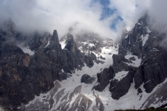 Passo San Pellegrino - przed TdF 2011