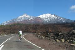 Teneryfa - podjazd pod Teide 2011-02-08