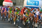 Krzysztof Szuder - TDP etap I, Ivan Basso w peletonie2